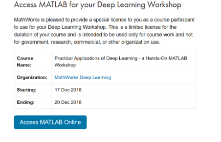 Practical Applications of Deep Learning with MATLAB